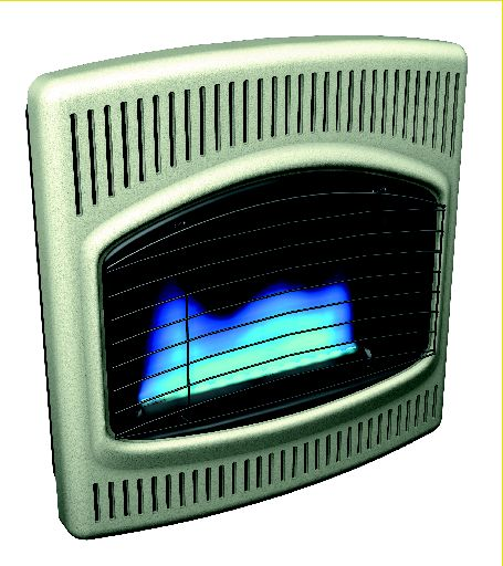 Comfort Glow Blue Flame 6,000 Vent Free Gas Wall Heater
