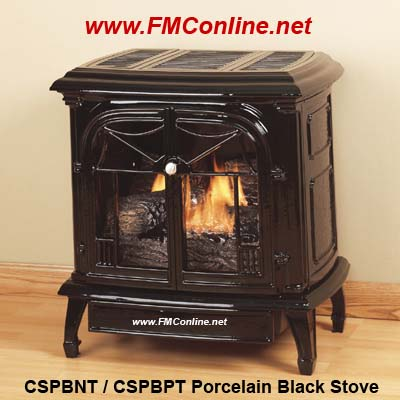 Comfort Glow Cspbt Cast Iron Stove And Gas Logs Fmconline